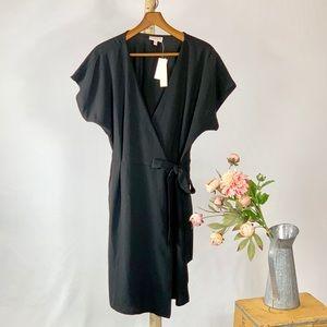 Bobeau Studio B Black Wrap Dress Size XL